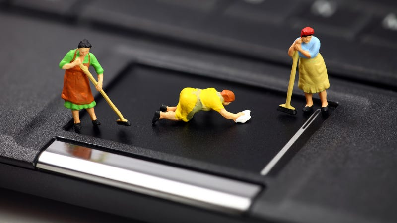 Give Your Laptop and Smartphone a Spring Cleaning