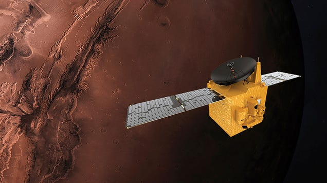 Five Things to Know About UAE's First Mission to Mars