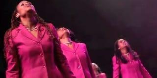 Members of Howard University's AKA chapter in 2011 (YouTube)