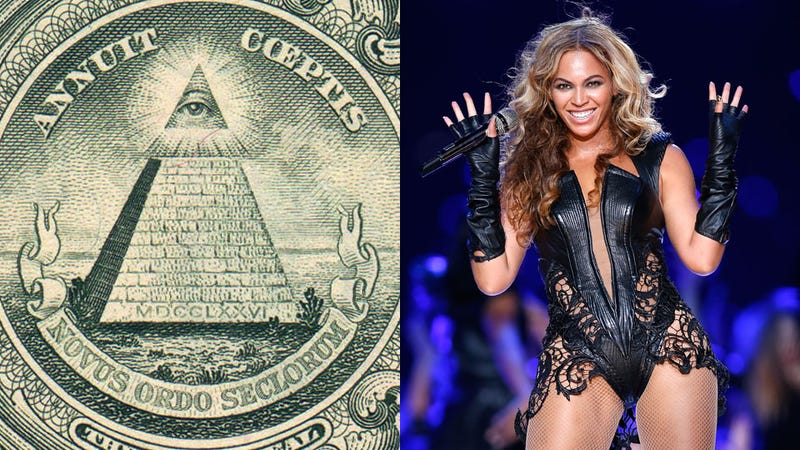 Illustration for article titled By Illuminati Conspiracy Theorist Standards, High Priestess Beyoncé's Half-Time Show Wasn't All That Bad