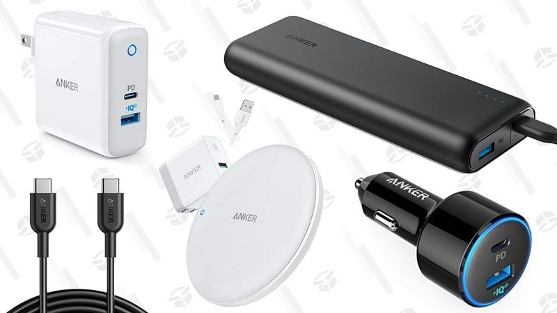 Anker High Speed Charging Gold Box   Amazon