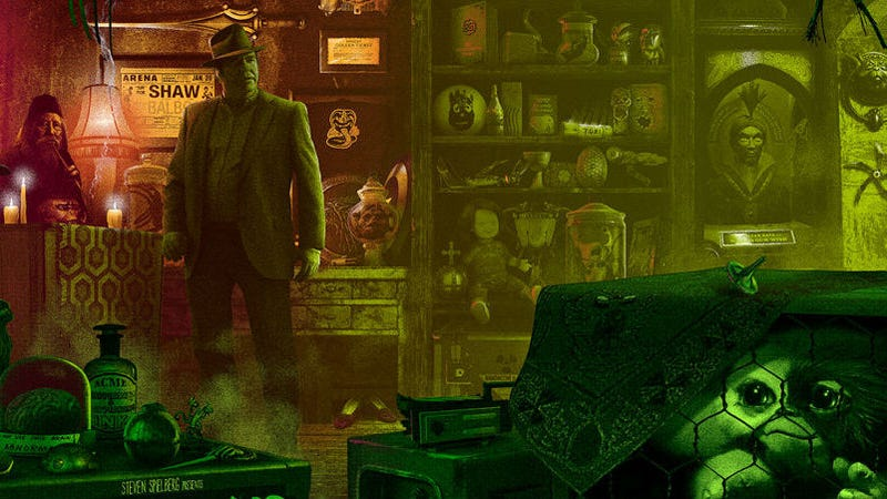 This Insane Gremlins Poster Has 84 Different References On It—Can You Guess Them All?