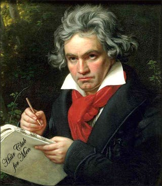 Illustration for article titled Beethoven's Hair Turned Into Diamond for Sale on eBay