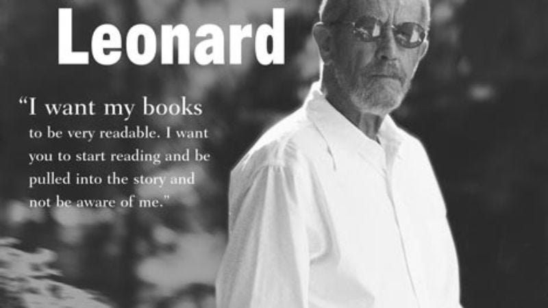 Illustration for article titled Elmore Leonard