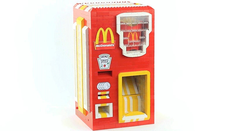 fry vending machine