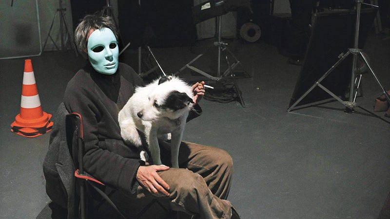 Carax in the documentary Mr. X. (Image: Carlotta Films)