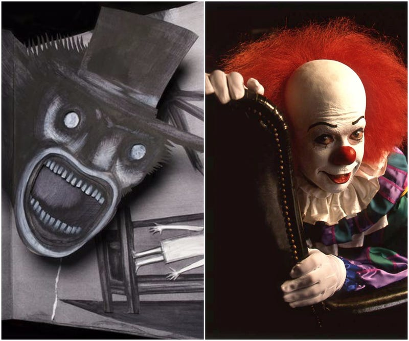Left: The Babadook / Right: Bob D'Amico/Getty Images