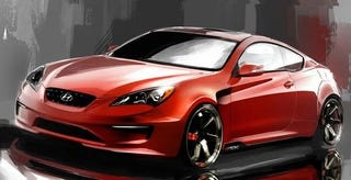Illustration for article titled Another Tuned Hyundai Genesis Coupe Headed For SEMA