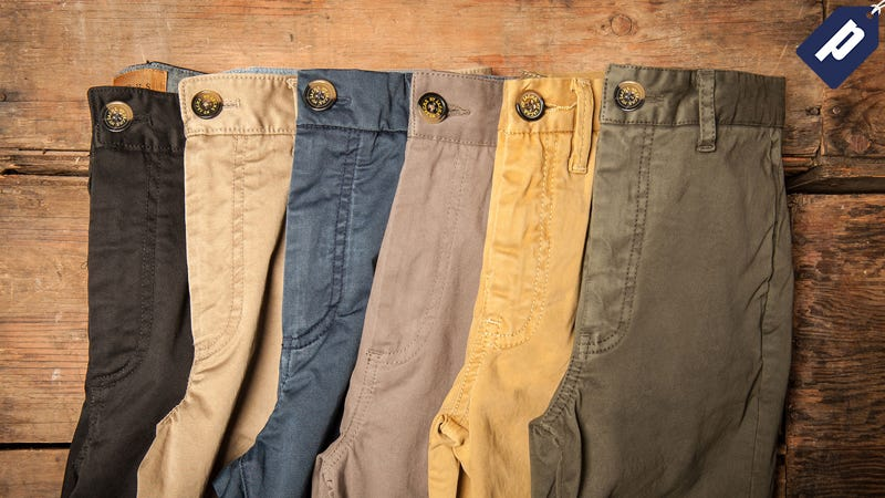 Illustration for article titled Step Into A Pair Of Soft, Cotton Chinos From Jachs For Just $36 (60% Off)