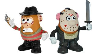 Illustration for article titled Freddy Krueger and Jason Voorhees Aren't so Terrifying as Potato Heads