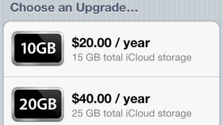 Illustration for article titled Apple Announces Pricing for Its Upcoming iCloud Service