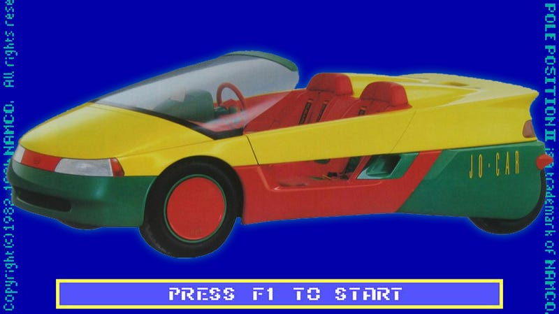 Illustration for article titled This Subaru Concept Car Is Hilariously '80s