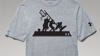 """Illustration for article titled Under Armour Condemned Over Iwo Jima """"Band Of Ballers"""" Basketball Shirt"""