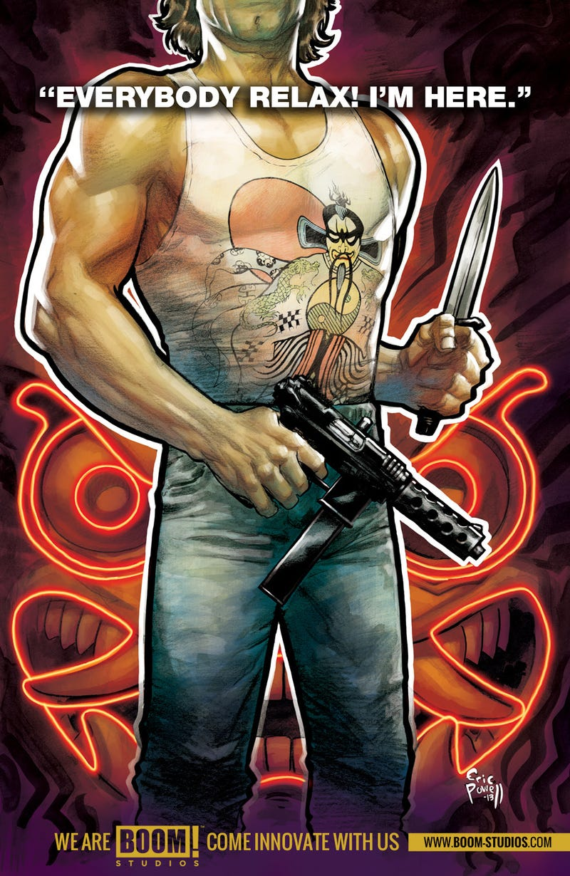 Illustration for article titled Jack Burton returns in the new Big Trouble in Little China comic!
