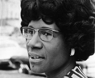 Illustration for article titled Saturday Night Social: Happy Birthday, Shirley Chisholm