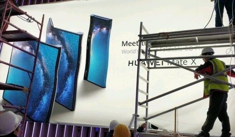 Illustration for article titled Si este es el teléfono plegable de Huawei, tienen mi atención