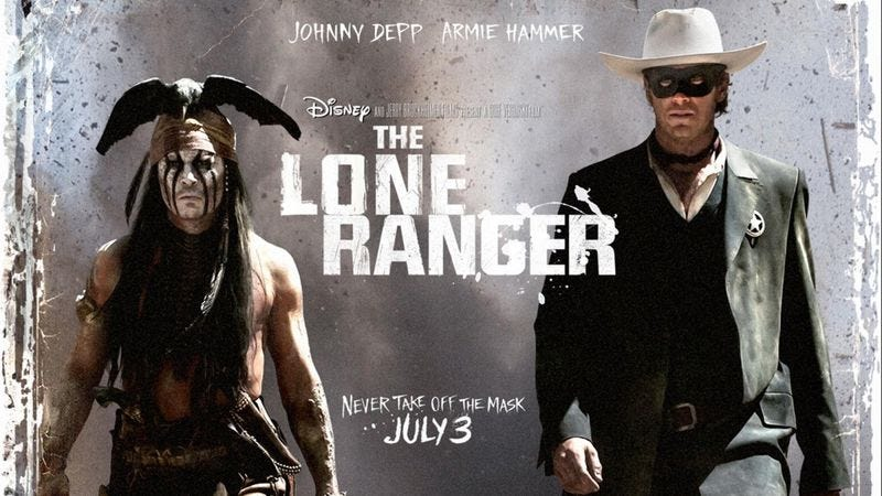 Illustration for article titled Despite Armie Hammer Profile In 'Good Housekeeping' Magazine, 'Lone Ranger' A Flop At Box Office