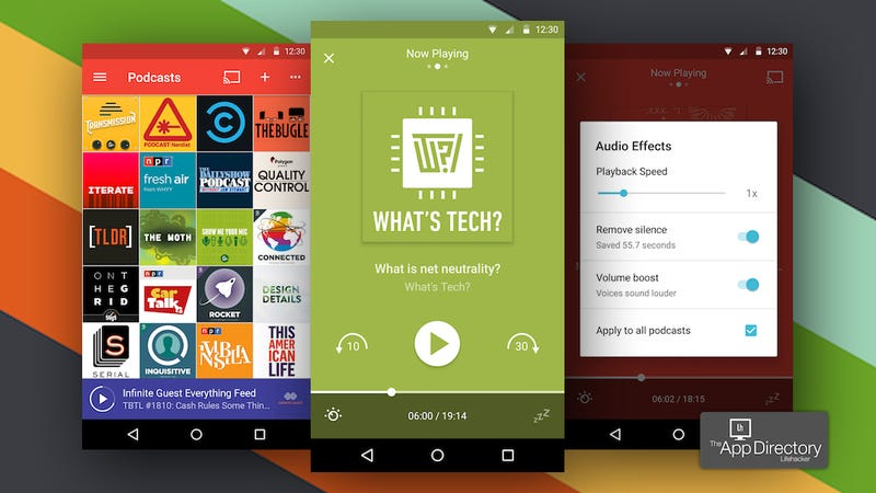 The best podcast manager for android fandeluxe Image collections