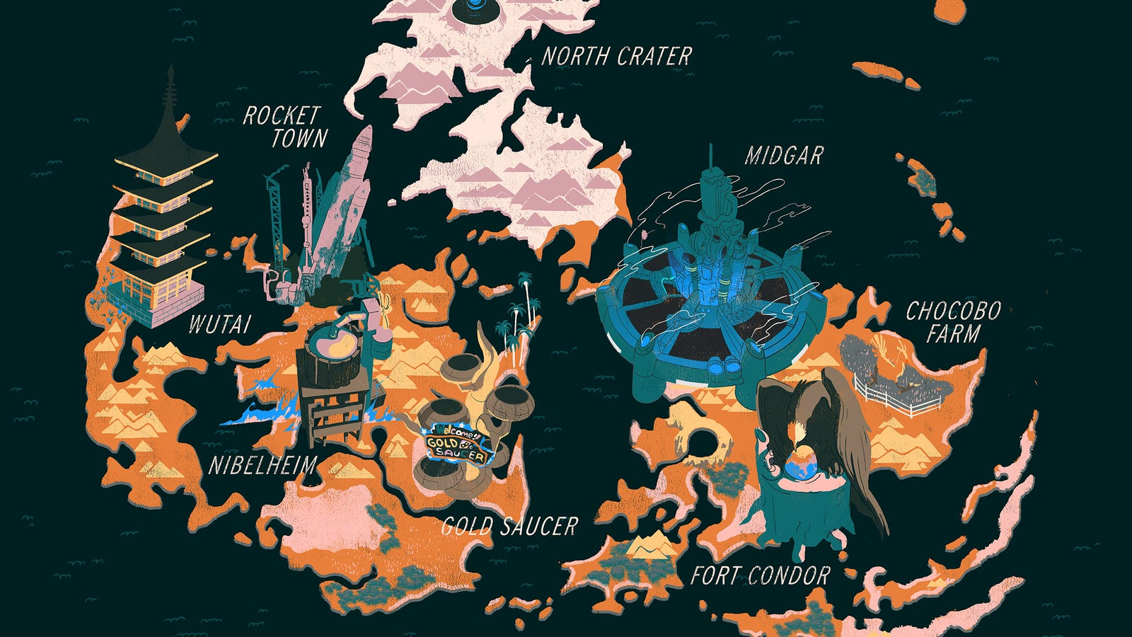 Final Fantasy VII Retrospective: Great Because It\'s Weird