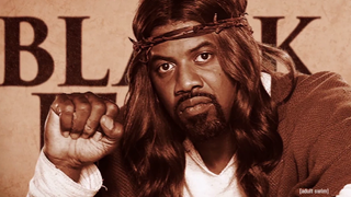 The Boondocks creator Aaron McGruder's new comedy Black Jesus is set to air on Adult Swim Aug. 7. Adult Swim