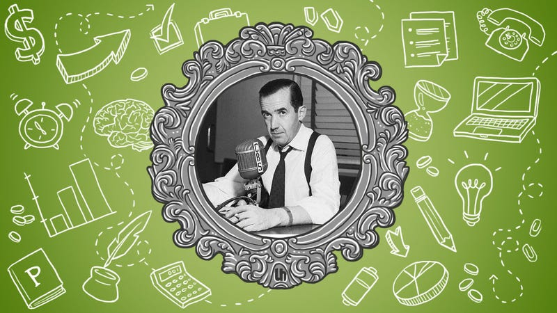 Illustration for article titled Edward R. Murrow's Best Life Lessons