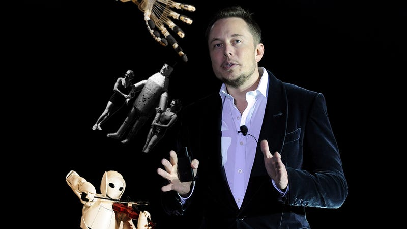 Elon Musk: We Need Universal Income Because Robots Will Steal All the Jobs