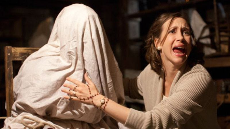 Illustration for article titled The Conjuring 2 gets a spooky new release date