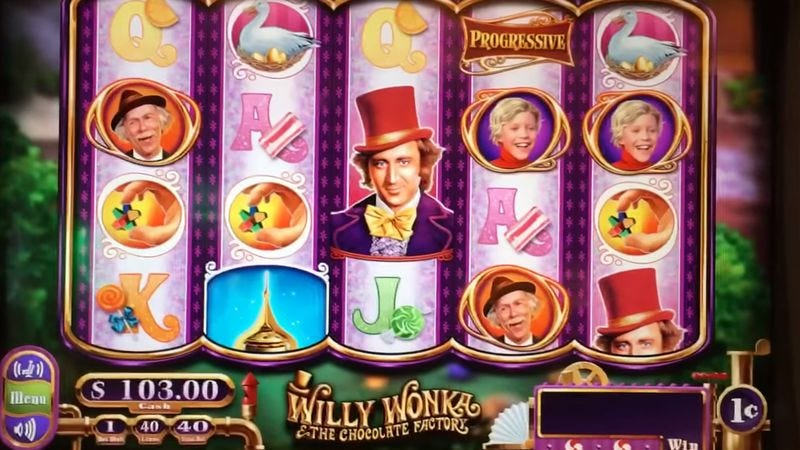 Willy wonka and the chocolate factory slot machine las vegas jeu de casino en ligne
