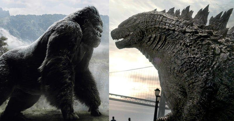 Illustration for article titled Las criaturas más míticas en la historia del cine se enfrentarán en Godzilla vs Kong