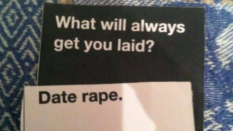 Image of: Cah Have You Heard Of Cards Against Humanity The Selfdescribed Party Game For Horrible People Jezebel Have You Played The Hilariously Offensive Game cards Against Humanity