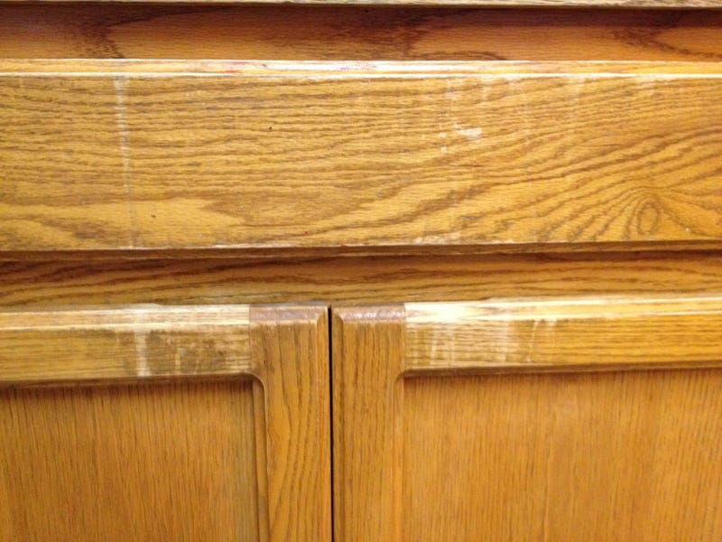 . One Weird Old Trick To Remove White Water Stains From Wood
