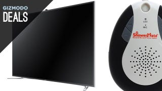 Illustration for article titled The 4K TV You've Been Waiting For, 20% Off iTunes, and More Deals