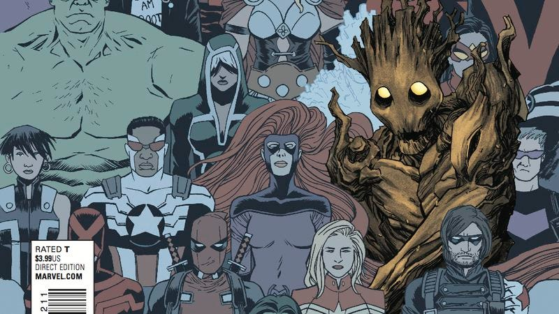 Illustration for article titled Exclusive Marvel preview: The Marvel Universe gets Groot-ified in Groot #2