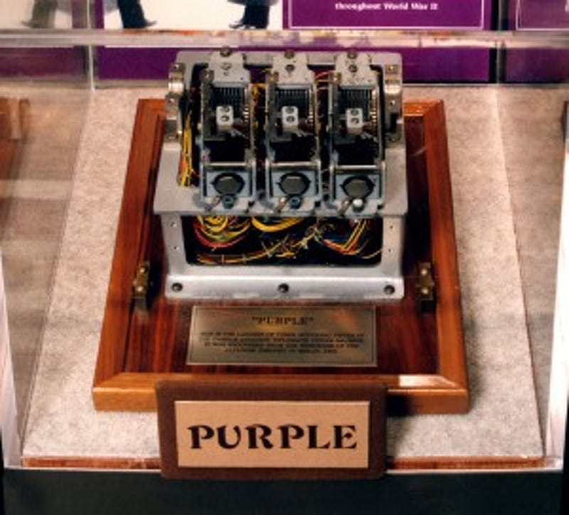How The US Cracked Japans Purple Encryption Machine At Dawn Of World War II