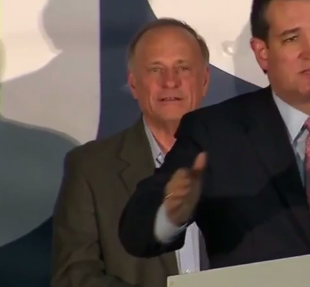 Why Does Rep. Steve King Know Ted Cruz's Speeches By Heart?