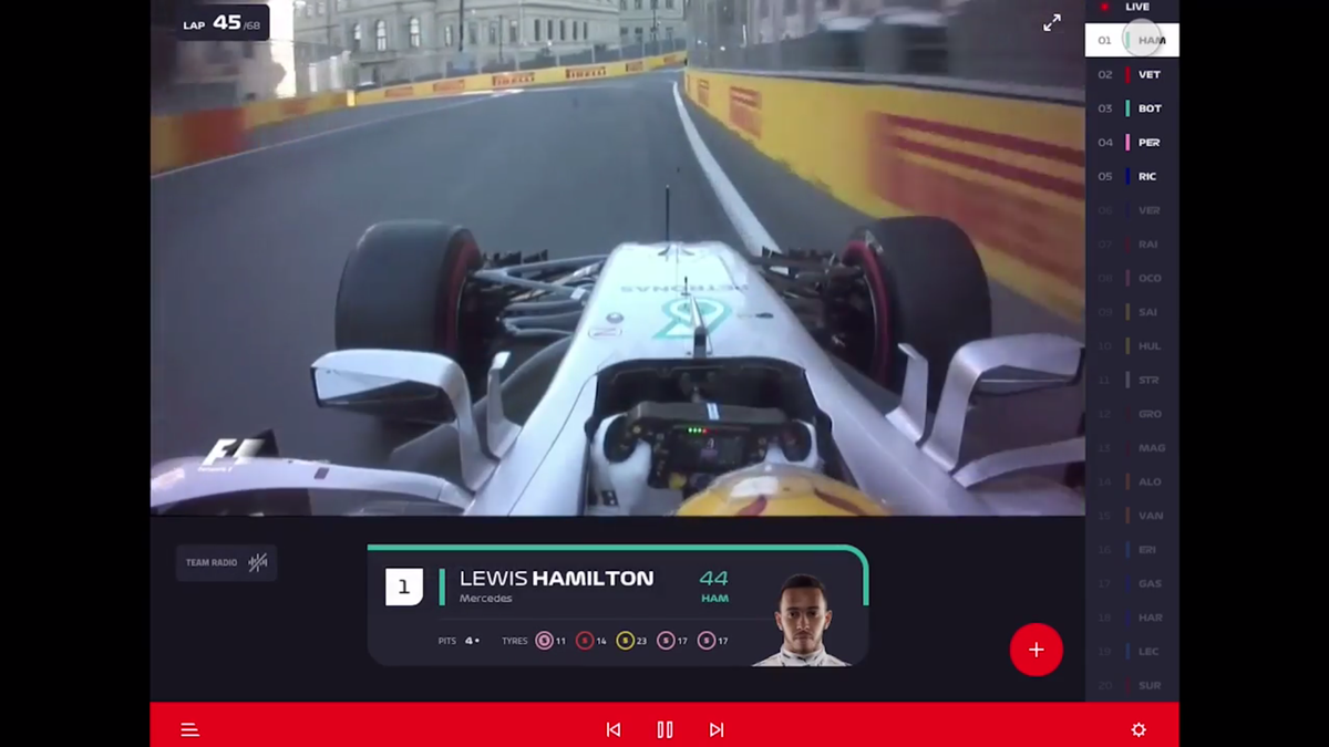 Formula One's Much Awaited Live Stream Is Real And It's Not That