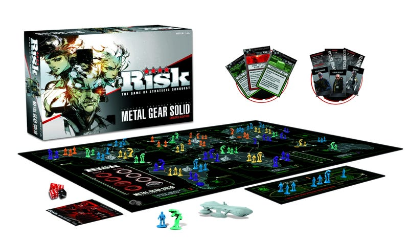 Illustration for article titled A Closer Look at the $50 Risk: Metal Gear Solid Limited Edition Board Game