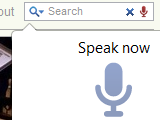 Illustration for article titled Voice Search for Chrome Searches and Fills Input Boxes with Your Voice