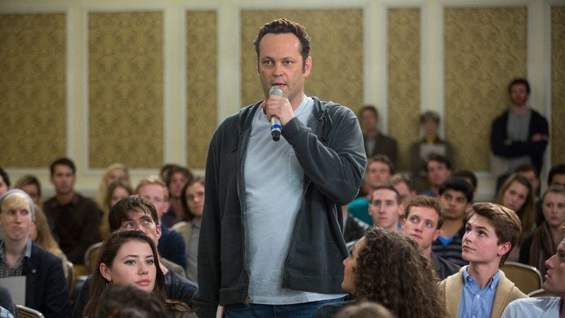 """Illustration for article titled Vince Vaughn tries his hand at """"feel good"""" with Delivery Man"""