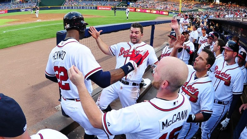Illustration for article titled The Braves Won Their First Monday Game In Nearly A Year