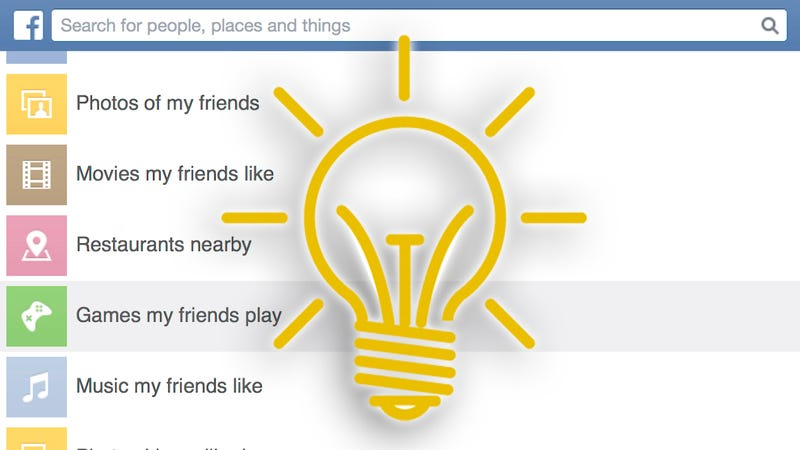 Illustration for article titled Clever Uses for Facebook Graph Search