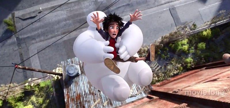 Illustration for article titled El nuevo tráiler de Big Hero 6 es todo superhéroes y mucho humor