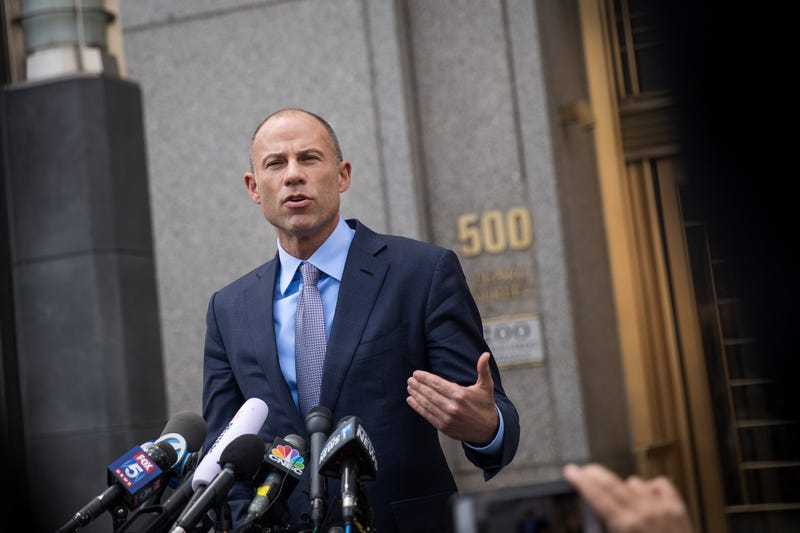 Illustration for article titled Wait, Stormy Daniels Lawyer Might Be Running for President? Don't Say This Is So