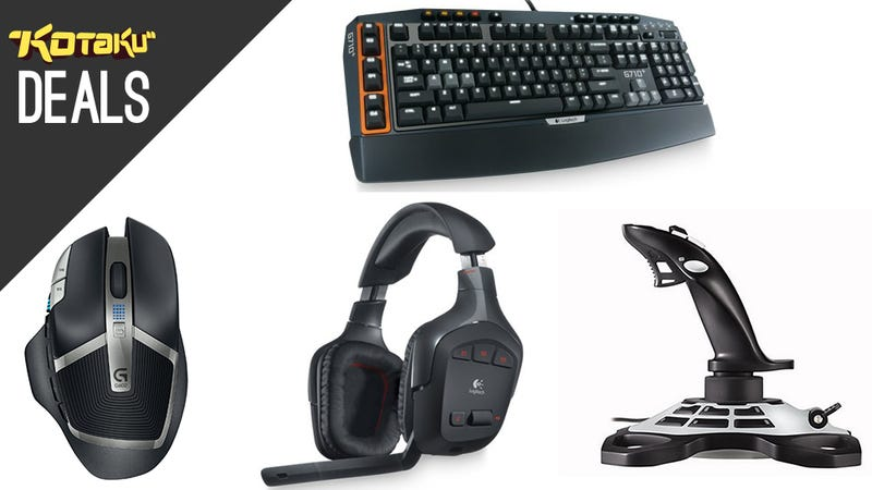 Illustration for article titled Logitech's Peripherals Are All Discounted, From Mice to Joysticks