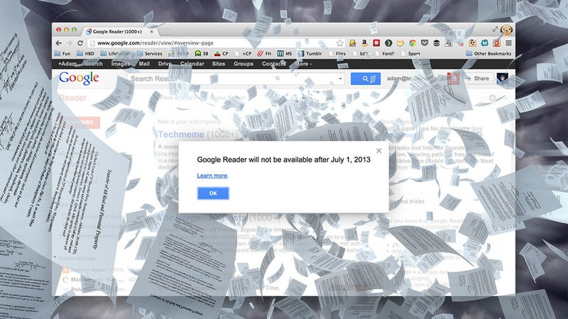 Google Reader Is Shutting Down; Here Are the Best Alternatives