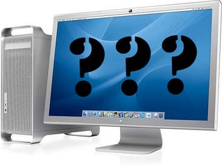 Illustration for article titled Apple Rumors: New Monitors Tomorrow?