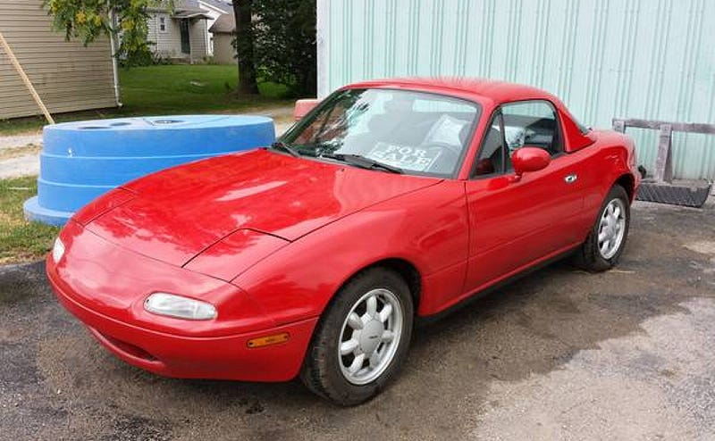 Illustration for article titled For $9,000, Who Doesn't Want To Drive A Miata?