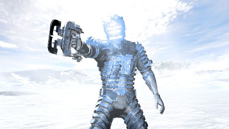 Illustration for article titled Rumor: Dead Space 3 Trades Total Darkness for Blinding Light on a Frozen Planet