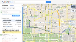 Illustration for article titled Google Removes Flawed Traffic Travel Times from Maps