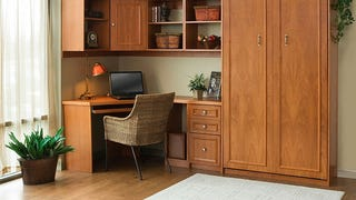 Illustration for article titled The Murphy Bed Workspace